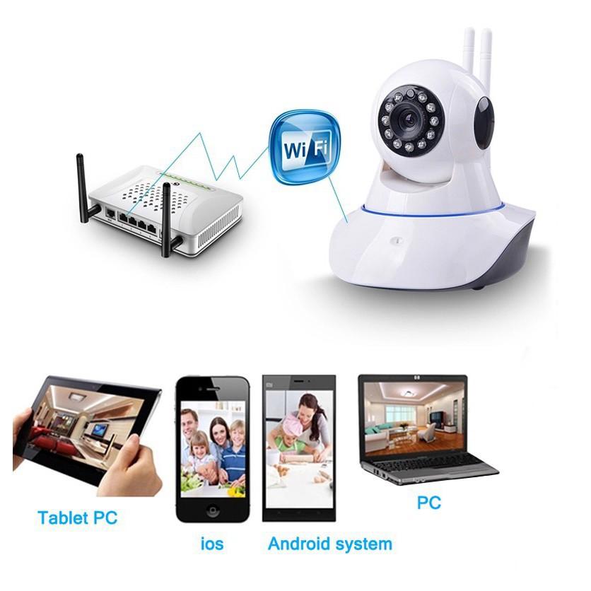 [Tặng thẻ 64GB] Camera Wifi Yoosee AT-04S 2.4MP - chuẩn Full HD 1080P - Không chuẩn hoàn lại tiền