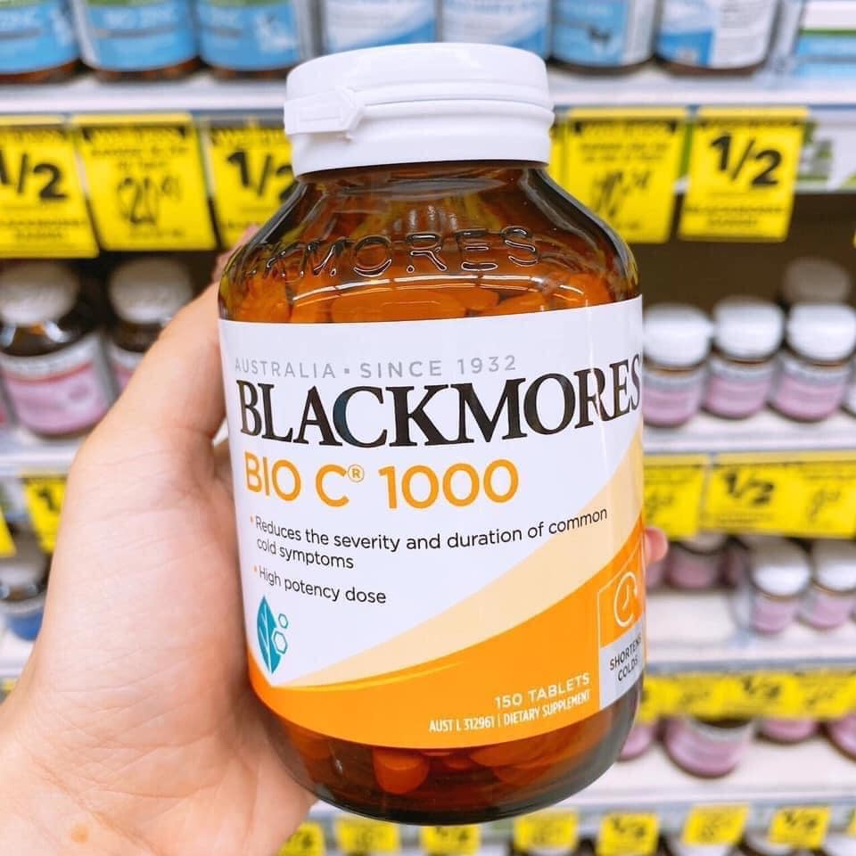 Viên Uống Vitamin C Blackmores Bio C 1000 150 Viên - BIOC BLACKMORE ÚC