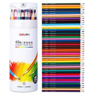 Hình ảnh Bút chì màu chuyên nghiệp dạng cốc Deli 24/36/48 màu - 68123/68124/68125-1