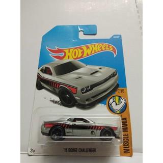 Xe Mô Hình Chính Hãng HotWheels – 15 Dodge Challenger