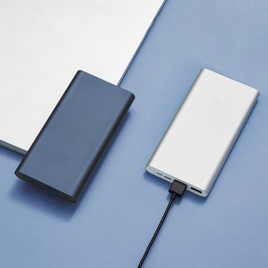Sạc Dự Phòng Xiaomi Gen 3 Chính Hãng 10.000mah cổng Tipe C Sạc Nhanh 18W  Bảo Hành 6 Tháng 1 đổi 1-TECHZIN - Pin sạc dự phòng di động