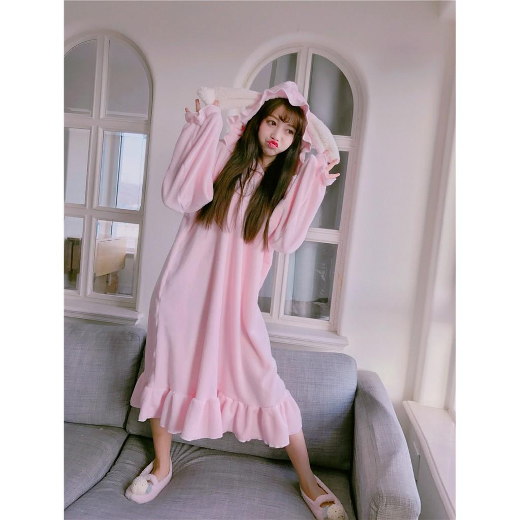 váy ngủ hồng tai thỏ cute ulzzang ( có ảnh thật) - 3327445 , 790798568 , 322_790798568 , 250000 , vay-ngu-hong-tai-tho-cute-ulzzang-co-anh-that-322_790798568 , shopee.vn , váy ngủ hồng tai thỏ cute ulzzang ( có ảnh thật)