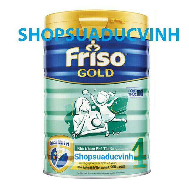 Sữa Friso Gold 4 900g date 04/2020 (Công thức mới LOCK-NUTRI)
