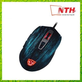 [Mã 159ELSALE hoàn 7% đơn 300K] CHUỘT MOTOSPEED V60 (A3050) RGB Gaming mouse có LED thay đổi theo DPI Xanh, đỏ, đen thumbnail