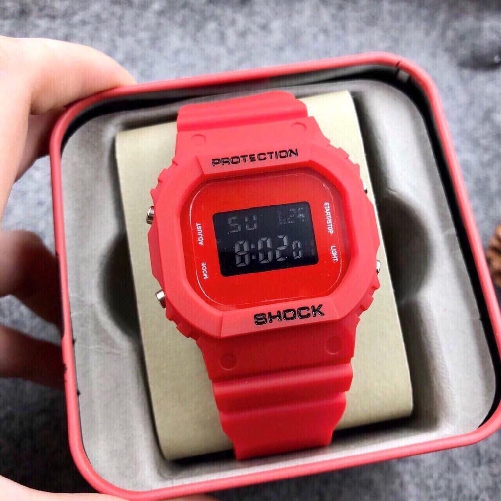 Đồng hồ thể thao nam nữ Shock dây silicon cực chất S1146