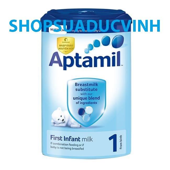 Sữa bột Aptamil 1 900g Date 12/2018 (NGUYÊN SEAL+ LẪY)