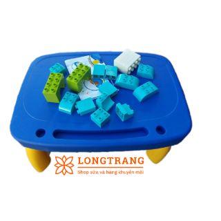 Bộ bàn nhựa láp ráp hình khối cho bé