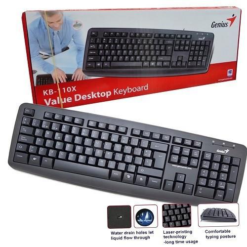 KB GENIUS 110X USB CHÍNH HÃNG