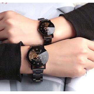 (Giá sỉ)Đồng hồ thời trang nam nữ kevin K1 kim bầu dây inox