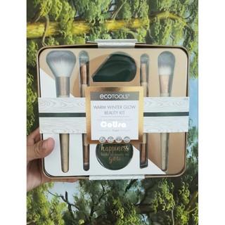 [ Ảnh Thật ] Bộ Cọ Trang Điểm Cơ Bản Ecotools Warm Winter Glow Beauty Kit Nhập Mỹ thumbnail