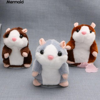 💖Talking Nod Hamster Mouse Record Chat Pet Plush Toy Gift for Kids