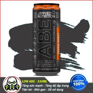 Lon Tăng Lực Applied Nutrition ABE Pre Workout 1 lần dùng(330 ml) Authentic 100%