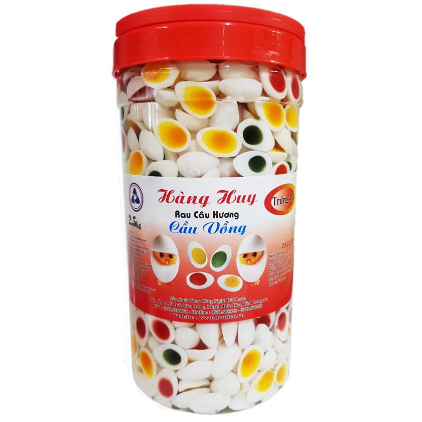 Thạch Trứng Cút Ngũ Sắc Hàng Huy 2,5kg