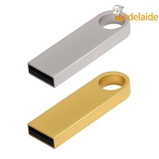 Metal USB 2.0 Flash Drive 64GB 32GB 16GB High Speed USB Pen Thumb Drive