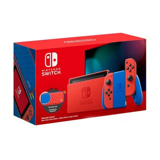 New Nintendo Switch - Máy Chơi Game Mario Red & Blue Edition - Bản Nhật Nhập Khẩu Chính Hãng thumbnail