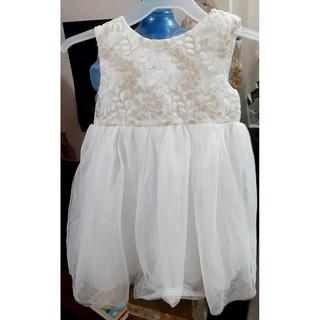Váy voan bồng thêu nổi I❤NEAT