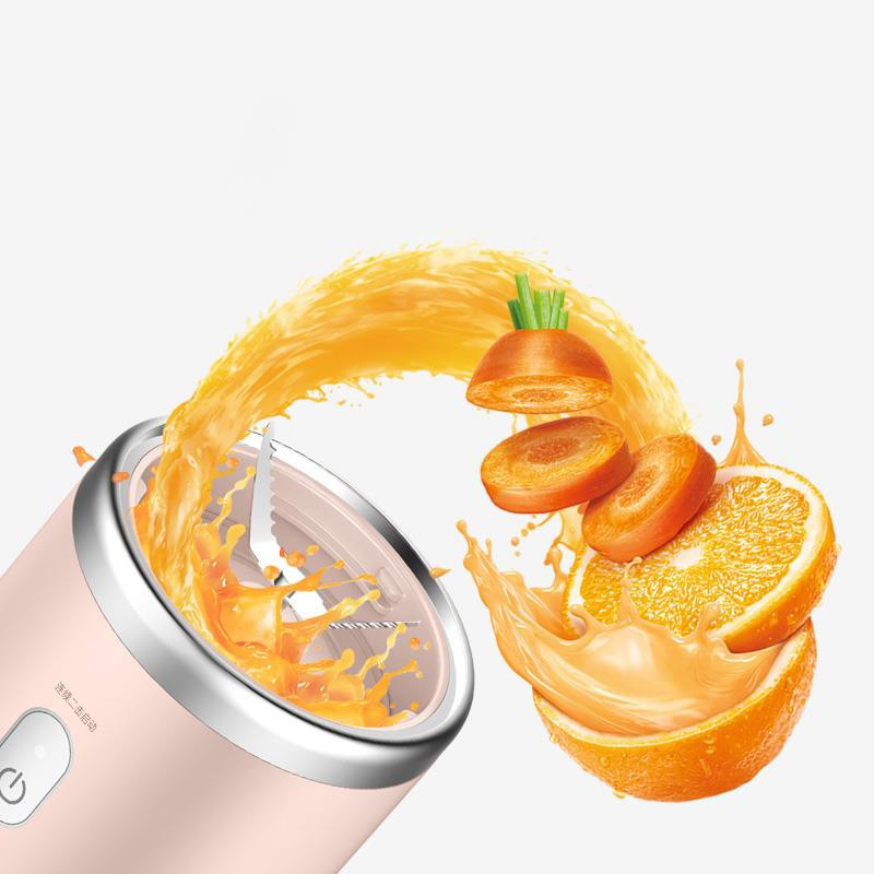 Máy Xay Sinh Tố cầm tay  Deerma Mini Juice Blender Tiện Dụng thông minh, DEM-NU05 - Chính hãng
