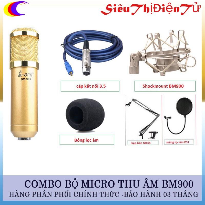 Combo Micro thu âm A-Ami BM900 và lọc với chân - 2946934 , 455690296 , 322_455690296 , 660000 , Combo-Micro-thu-am-A-Ami-BM900-va-loc-voi-chan-322_455690296 , shopee.vn , Combo Micro thu âm A-Ami BM900 và lọc với chân