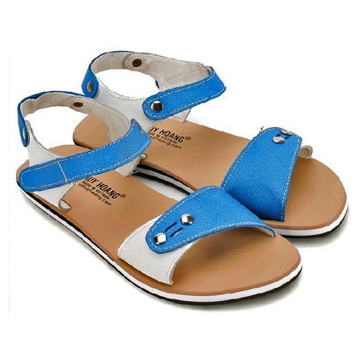 Giày sandal nữ màu xanh phối trắng HP7857 - 3084090 , 1141776204 , 322_1141776204 , 239000 , Giay-sandal-nu-mau-xanh-phoi-trang-HP7857-322_1141776204 , shopee.vn , Giày sandal nữ màu xanh phối trắng HP7857