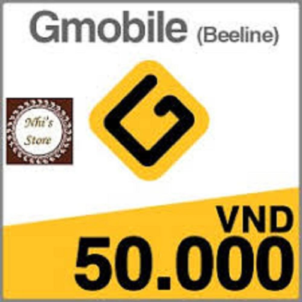 Mã thẻ và số seri thẻ Gmobile (Bilai) (chiết khấu 8%)