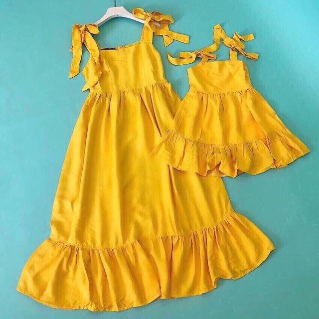 Set váy mẹ bé 2 dây - 3213111 , 1292750265 , 322_1292750265 , 165000 , Set-vay-me-be-2-day-322_1292750265 , shopee.vn , Set váy mẹ bé 2 dây