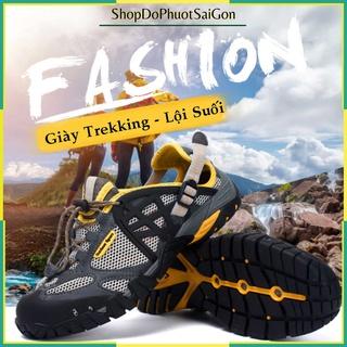 Giày leo núi thoát nước lội suối, trekking đi phượt Outdoor Sport cao cấp