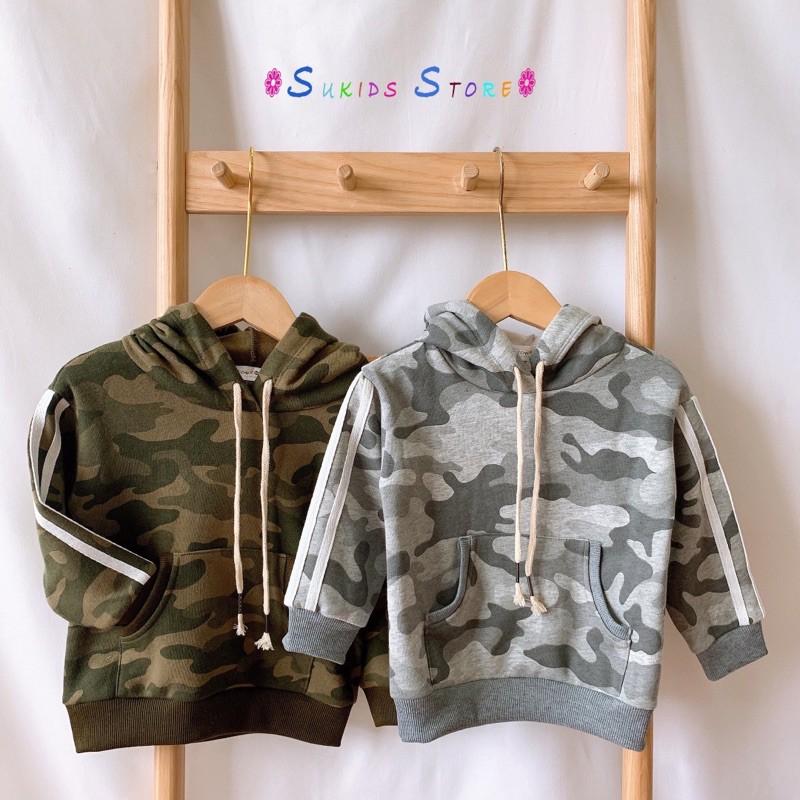 [KIDXANH10-Hoàn 50%Xu] Áo Hoodie lót lông mềm mịn ấm áp siêu thời trang cho bé trai/ bé gái - Sukids Quần