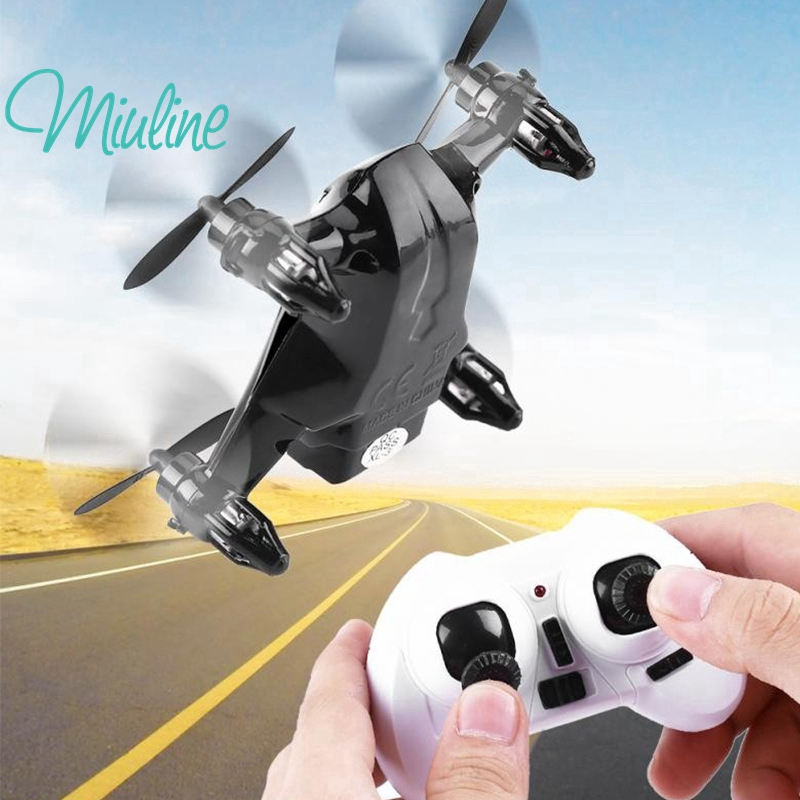 MIU Mini Quadcopter Remote Control Drone RC Helicopter Toy