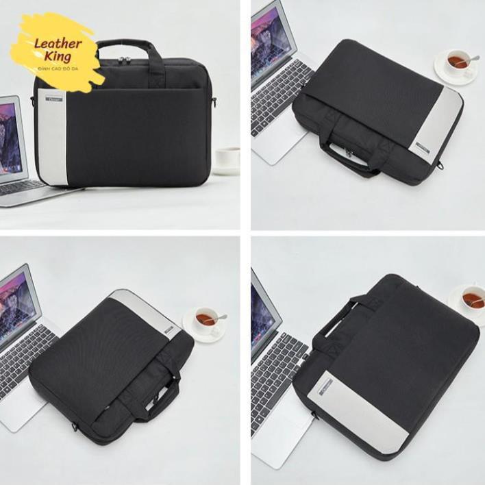 Túi chống sốc 💥 FREESHIP 💥 Cặp chống nước 15.6inch cho laptop, macbook LEOTIVA T57 - Túi đựng laptop thời trang