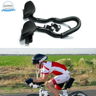 Qswba Bicycle Armrest Cycling Bike Multi-Position Handlebar Rest for Mountain Road Bike