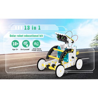 Bộ lắp ráp Robot năng lượng mặt trời 14 in 1 (Educational Solar Robot Kit)