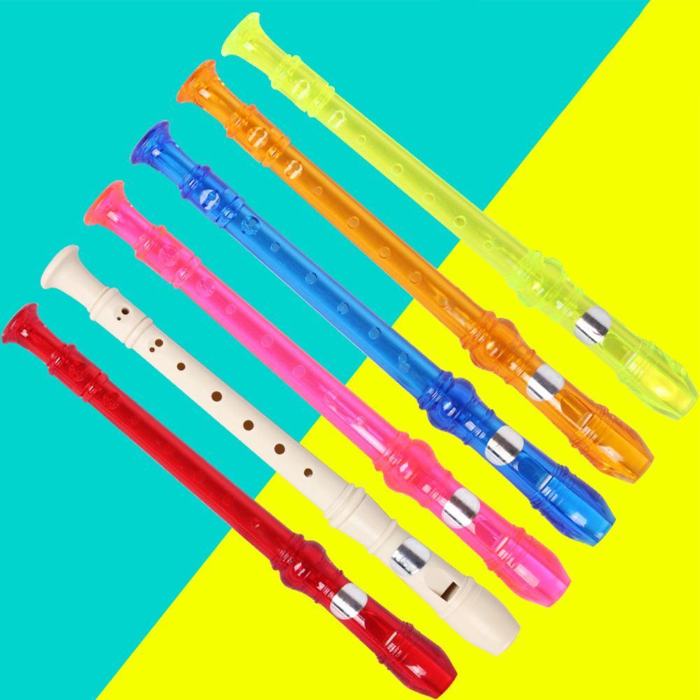 Kids 8 Holes Soprano Recorder Flute Musical Instrument Beginner Student Gift