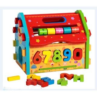 Nhà Lắp Ráp Thả Số Toán Học Vivi Toys