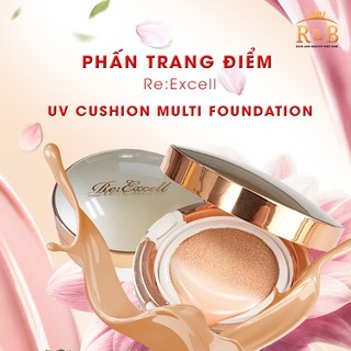Phấn trang điểm Re:Excell UV Cushion Multi Foundation