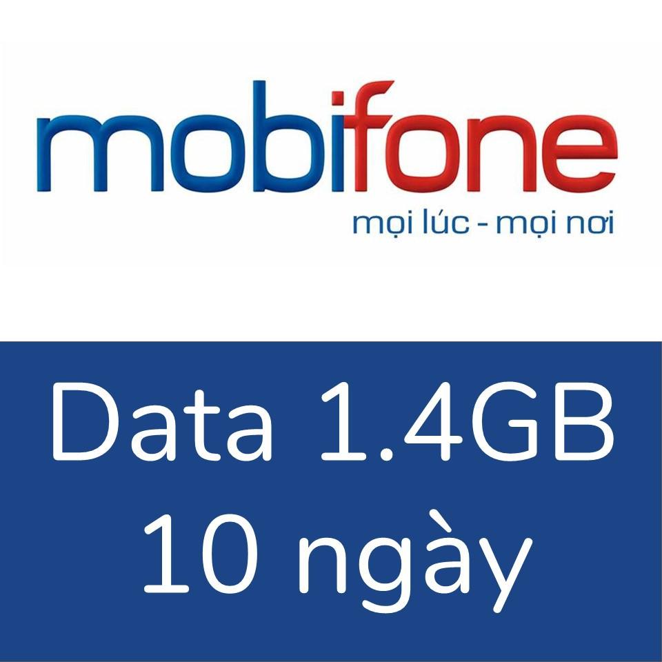Mobifone 1.4GB, 10 ngày