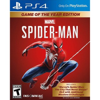 Đĩa Game Ps4 Marvel s Spider-Man-Game of the Year Edition thumbnail