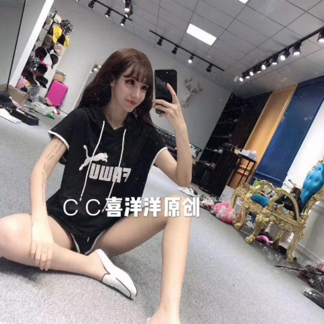 Bộ cộc QCCC - Set quần áo nữ Bộ thể thao