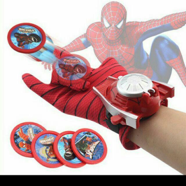 Đồ chơi – Bao tay và đồng hồ bắn đĩa SPIDER-MAN