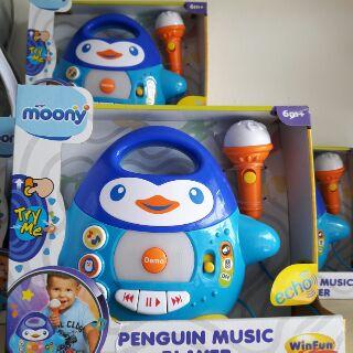 Đàn nhạc hình chim cánh cụt. Hãng Winfun. Hàng quà tặng Moony