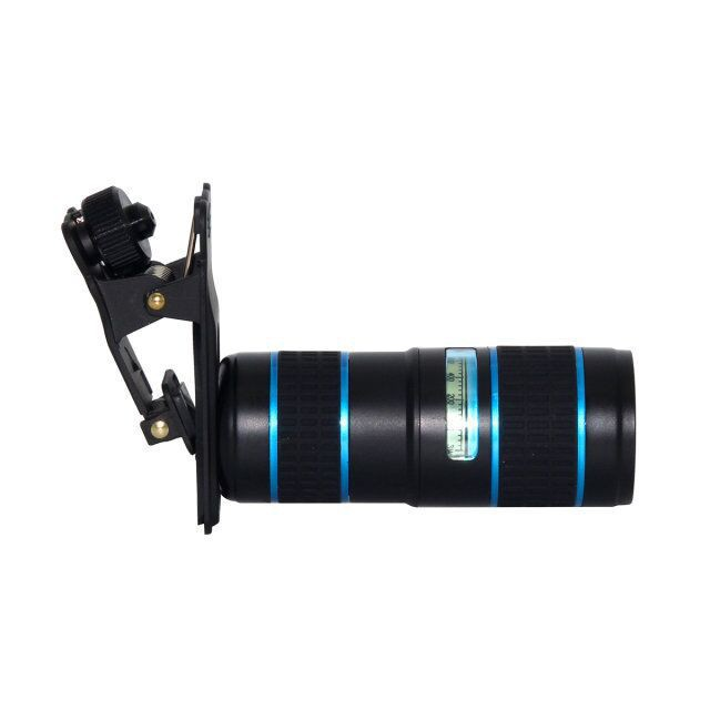Mini dual adjustment 12X mobile phone lens for Apple Android phone lens
