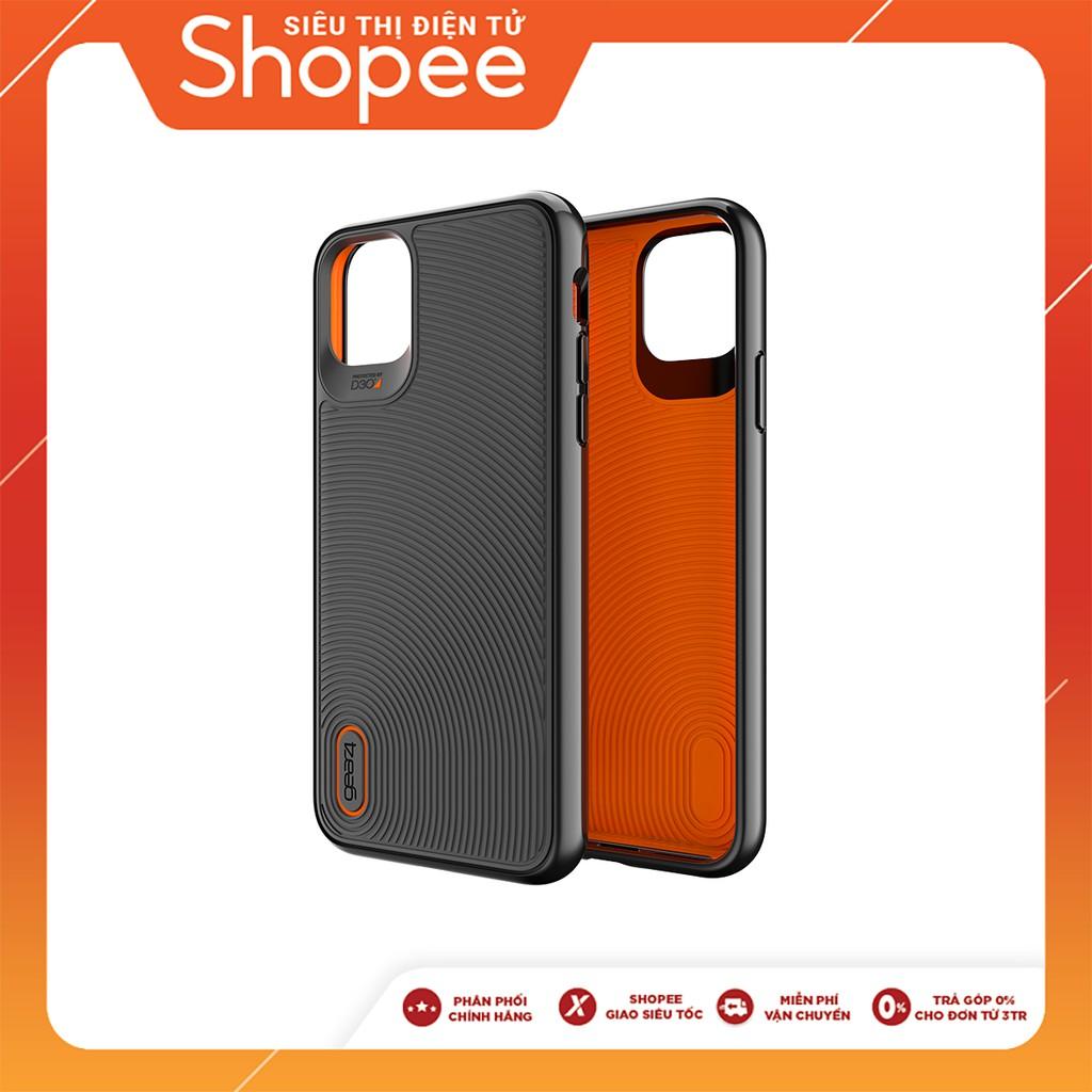 Ốp lưng chống sốc GEAR4 D3O Battersea iPhone 11 Pro Max (Black) - ICB64BTSBLK