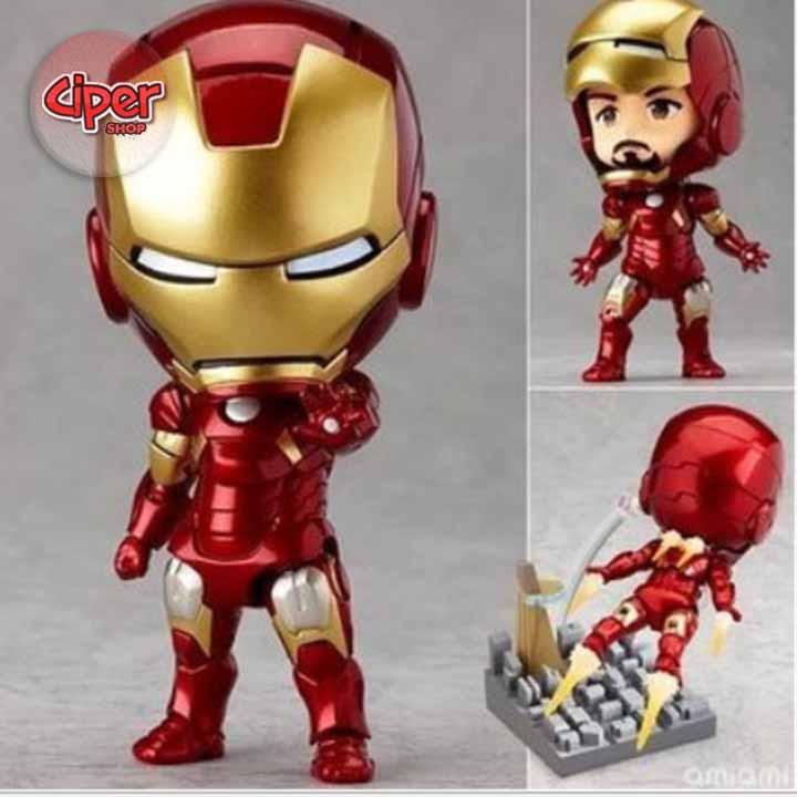 Mô hình Nendoroid 284 - Iron Man Mark 7