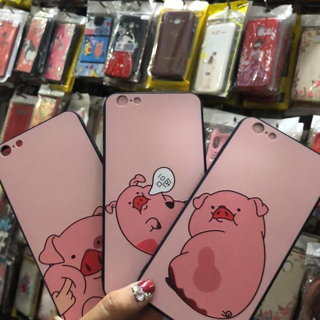 Iphone 6 Plus/ 6S Plus ốp lưng in hình 4D heo ngộ nghĩnh