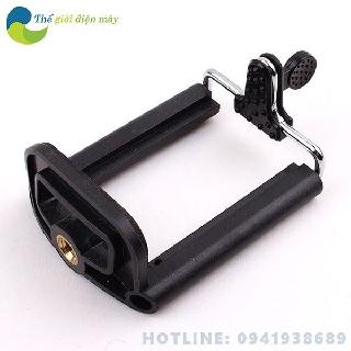 Khung gắn điện thoại lên tripod - Đầu kẹp điện thoại lên chân máy ảnh - shop Thế giới điện máy