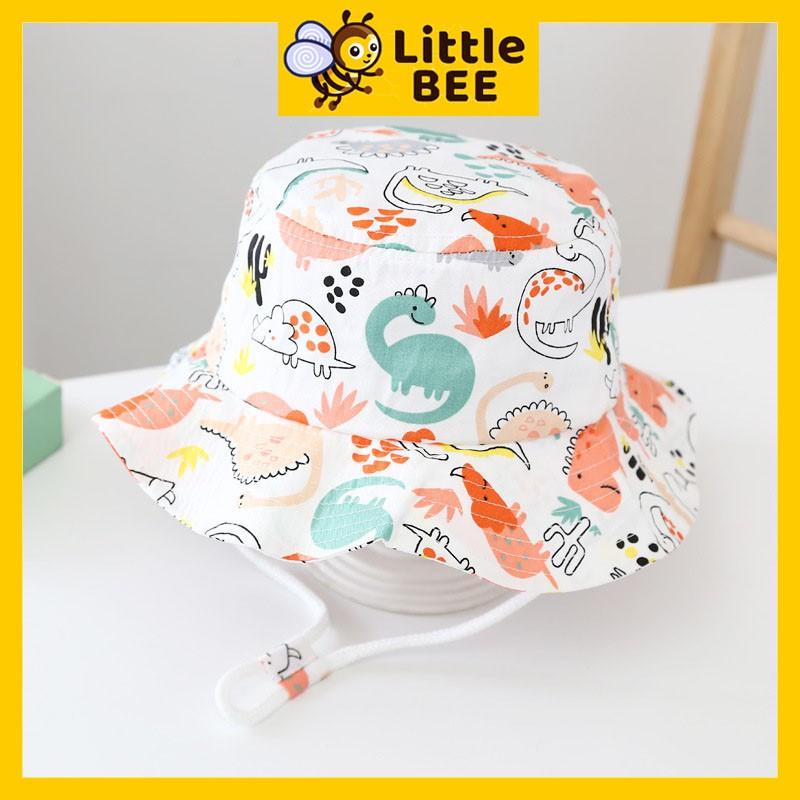 Mũ cho bé gái, mũ cho bé trai vành tròn đáng yêu, nón cho bé UNISEX vải cao cấp.