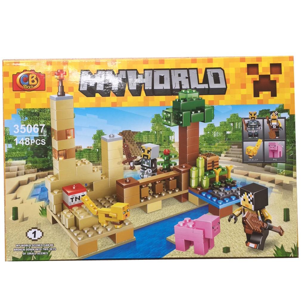 Lego xếp hình My World 35067- 148 pcs