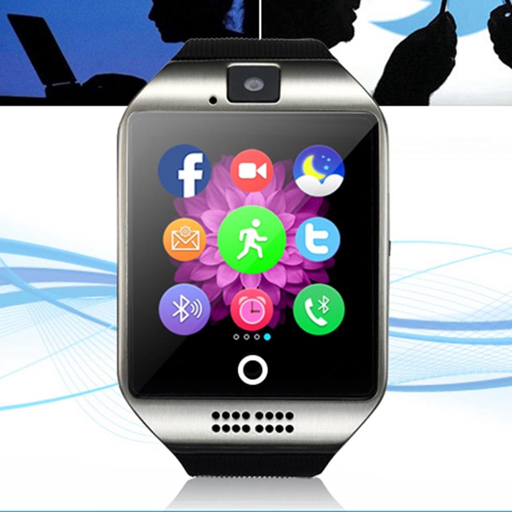 Đồng hồ thông minh Q18 kết nối bluetooth với điện thoại IOS Android và có máy quay