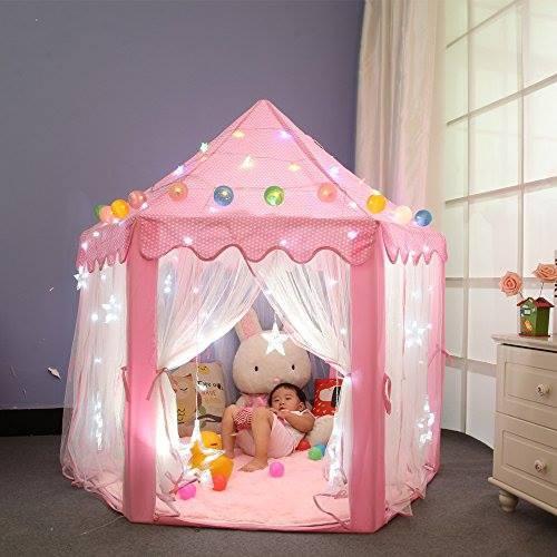Lều công chúa hoàng tử mẫu mới cho trẻ em chơi trong nhà, ngoài trời, tăng khả năng vận động và sáng tạo của bé
