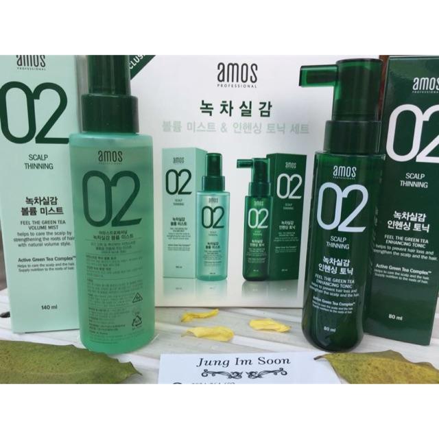 ???? Set tinh chất và xịt dưỡng tóc và da đầu, kích thích mọc tóc của AMOS THE GREEN TEA VOLUME MIST - 9932977 , 1002108990 , 322_1002108990 , 600000 , -Set-tinh-chat-va-xit-duong-toc-va-da-dau-kich-thich-moc-toc-cua-AMOS-THE-GREEN-TEA-VOLUME-MIST-322_1002108990 , shopee.vn , ???? Set tinh chất và xịt dưỡng tóc và da đầu, kích thích mọc tóc của AMOS T