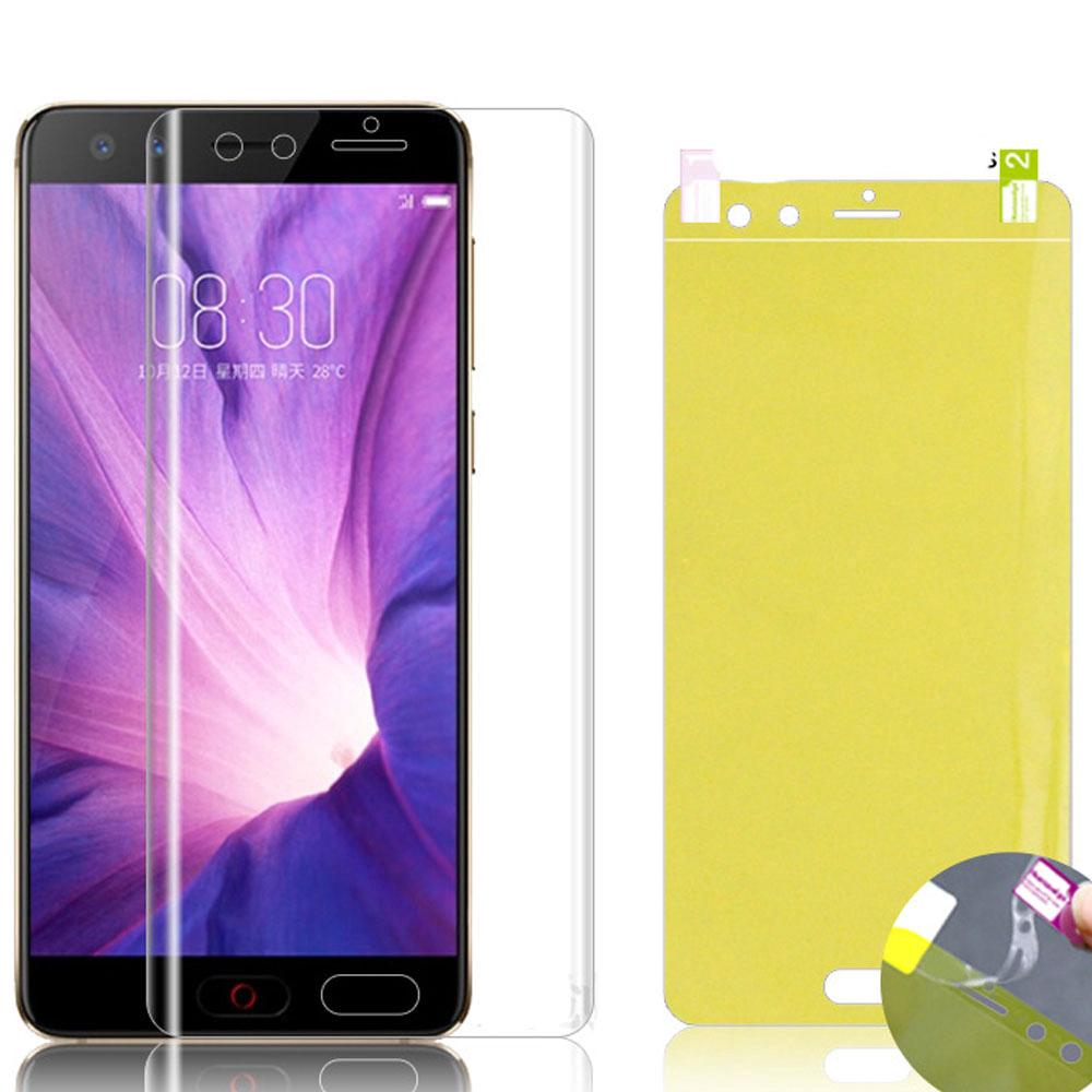 Clear Hydrogel Film Nubia X A7 Z20 Z11 Z17 Z18 MiniS / Max Z17S Z18 V18 N3 Red Magic Mars / 3 Axon 10 Pro 5G Blade V9 / V10 Vita Screen Protector